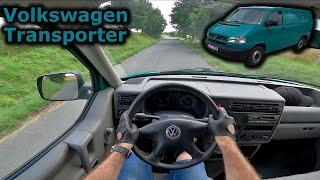 2002 Volkswagen Transporter (T4) | POV test drive | #DrivingCars