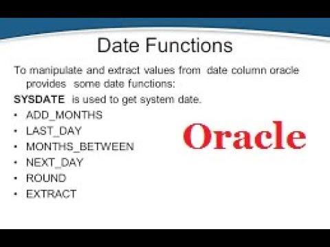 oracle-date-functions
