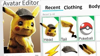 MAKING DETECTIVE PIKACHU A ROBLOX ACCOUNT!!