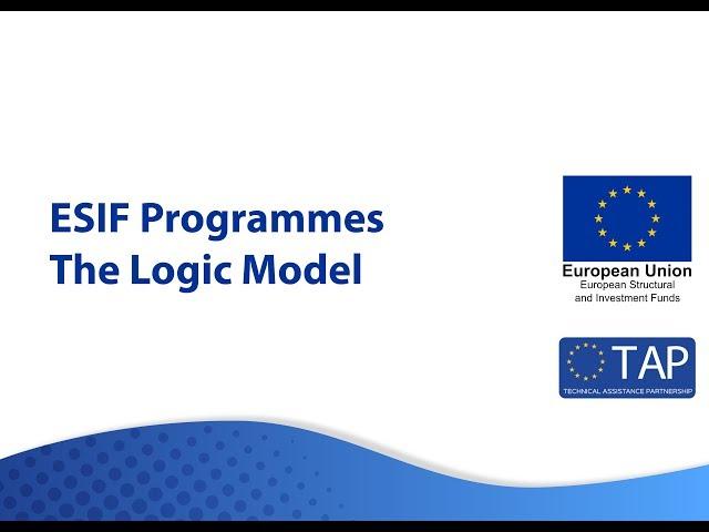 ESIF TAP - The Logic Model