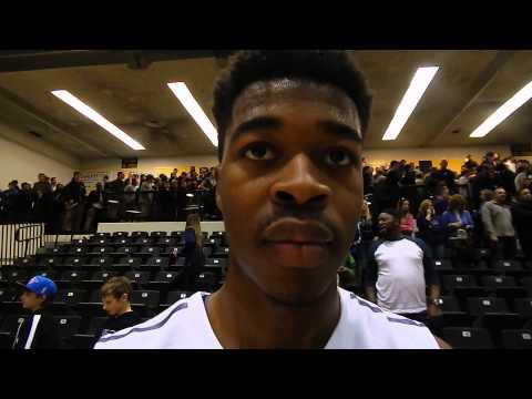 Mount St. Joseph basketball Jordan McNeil 2/16/14