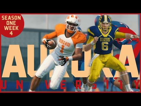 NCAA Football 14 | Aurora Dynasty - Week 4 (Bye Week) Recruiting & KRED Show
