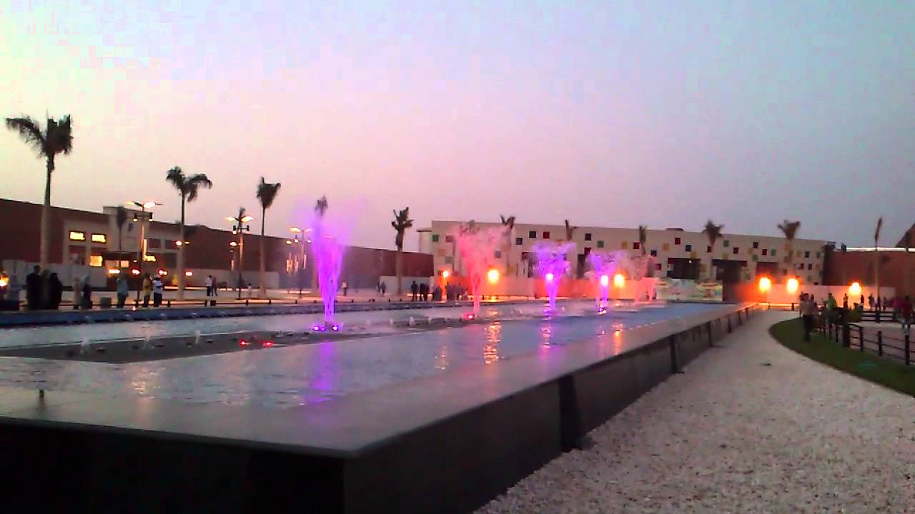 mall of arabia the musical dancing fountain youtube. Black Bedroom Furniture Sets. Home Design Ideas