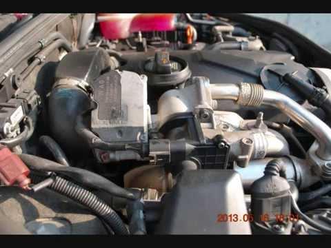Audi A4 B7 19tdi Zawor Egr Czyszczenie 04 08 Youtube
