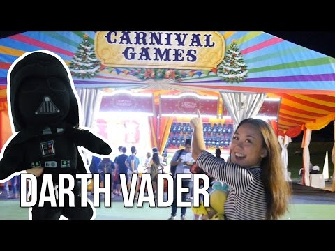 Carnival Games at Gardens by the Bay (Christmas Wonderland) | Arcade Ninja (Special)