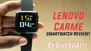 Lenovo Carme Smartwatch Review! Smart WATCH at just Rs 3,499!