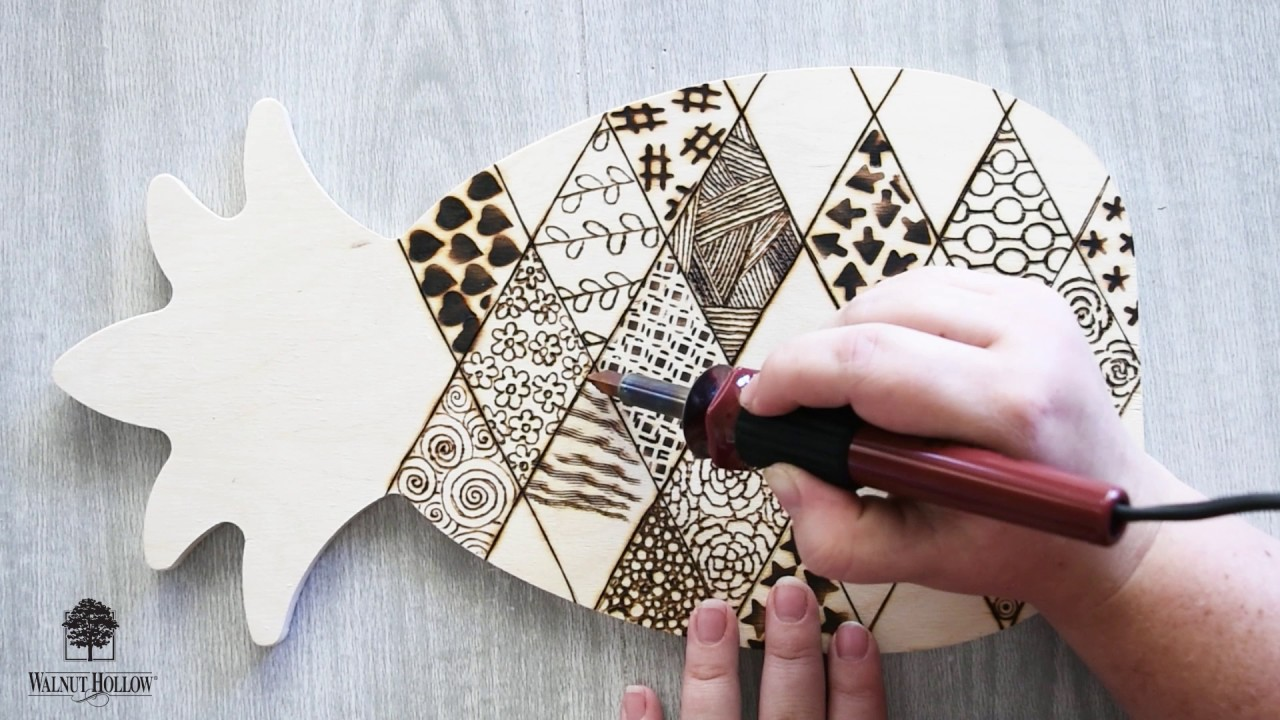 How To Wood Burn Patterns And Designs