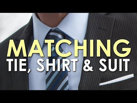 25b00e052c37 How to Match a Tie, Shirt, and Suit | The Art of Manliness - YouTube