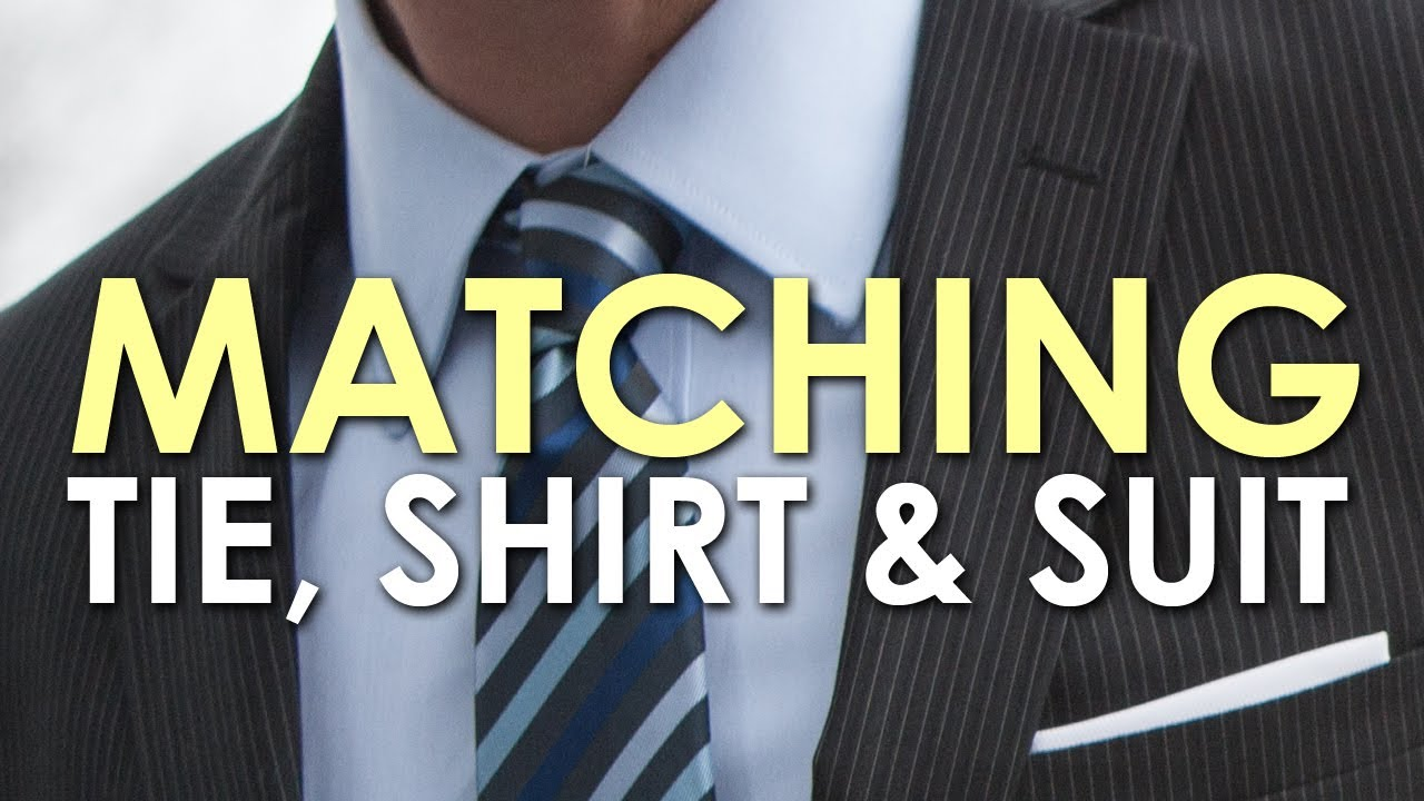 6bc7a0667d98 How to Match a Tie, Shirt, and Suit | The Art of Manliness - YouTube