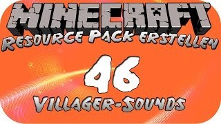 Minecraft Resource Pack erstellen #46 [HD+] [Deutsch] - Villager-Sounds