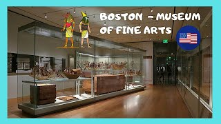 BOSTON: Museum of Fine Arts 🏛️, collection of Egyptian antiquities 4,000 years old!