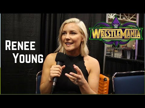 Renee Young on WrestleMania 34, The Miz vs. Daniel Bryan, and Ronda Rousey,