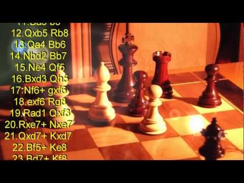 Anderssen Vs Dufresne - Evergreen Game - STOP MOTION - CHESS SCACCHI - Miscellanea