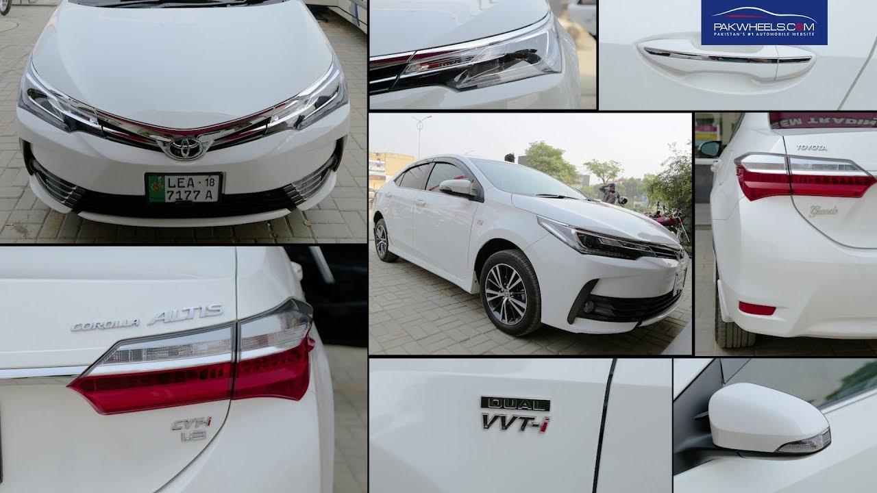 Toyota Corolla Altis Grande Cvt I Owner S Review Price Specs