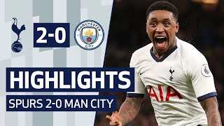 HIGHLIGHTS | SPURS 2-0 MAN CITY | STEVEN BERGWIJN SCORES WONDER GOAL ON DREAM DEBUT