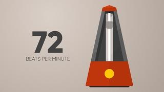 72 BPM Metronome