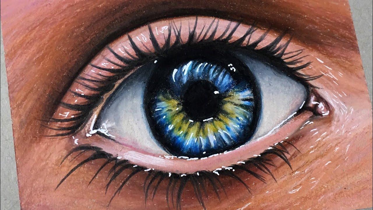 Como pintar un ojo semirealista los tutos youtube for Como pintar un ojo