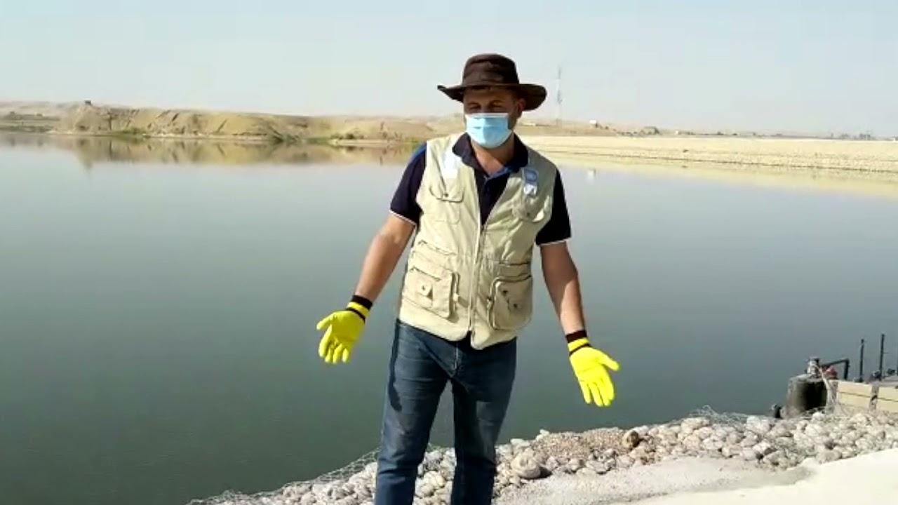 Rehabilitating the Park at Alwand Dam Lake