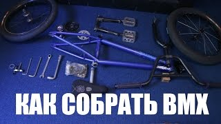 Как собрать BMX - How to build a bmx | Школа BMX Online #32 Дима Гордей
