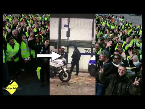Des policiers agitateurs au milieu des gilets jaunes à Paris  la question est posée une info Journal