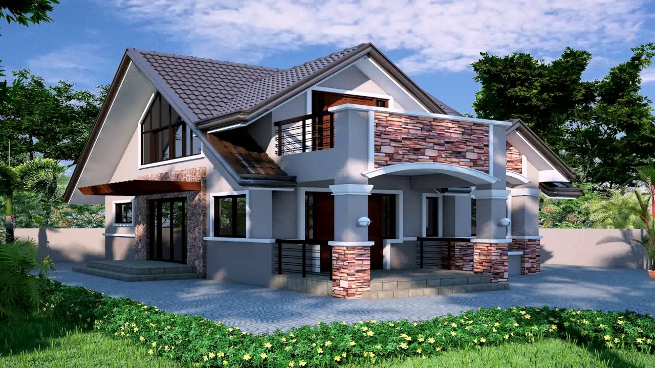 Simple bungalow house interior design philippines youtube for Minimalist bungalow house design