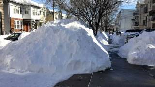 Snow Ironbound Newark NJ 2016