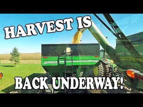 Harvest 2018 Is BACK Underway  Iowa Harvest