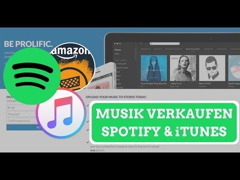Die günstigste Möglichkeit deine Musik auf Spotify, iTunes & Amazon anzubieten