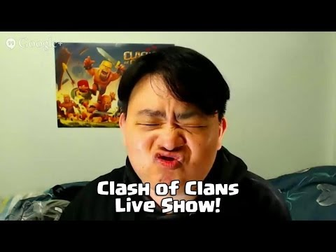 Sunday Live show 7pm to 7.30pm Singapore time 27 April 2014 Clash of Clans