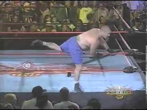 Tank Abbott Beats Up Mark Madden WCW