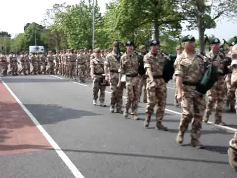 IRISH GUARDS GOING TO IRAQ