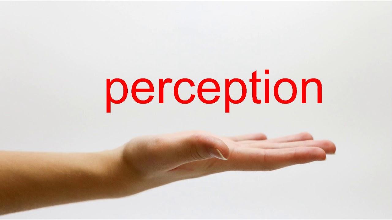 How to Pronounce perception - American English - YouTube