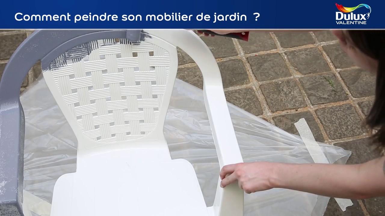 Emejing Comment Repeindre Un Salon De Jardin En Plastique Images ...