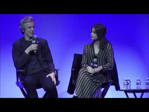 Jenna Coleman Teases Peter Capaldi On Working With William Hartnell