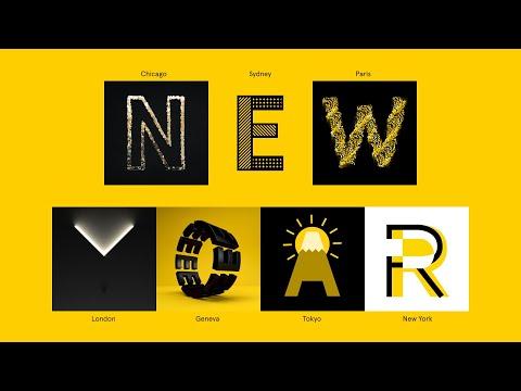 Landor 2020 New Years Card