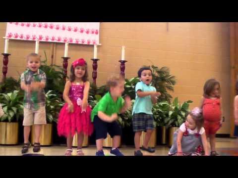 Liam's Graduation - 1st Year of Preschool - Bridges at St Thomas More
