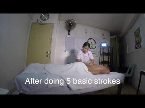 First Philippine deaf mute to take Department of Health massage examinations