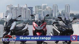 Yamaha XMax, Modenas Elegan 250 dan WMoto RT3 pilihan skuter maxi ranggi