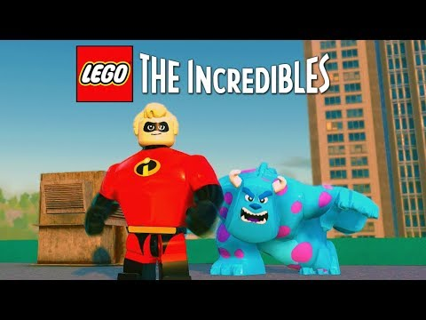 LEGO The Incredibles FREE ROAM + CHARACTER CREATOR Launch Day Live Stream!