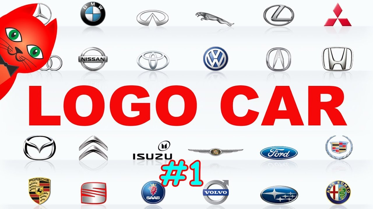 Logo Car Car Brands Part 1 Youtube