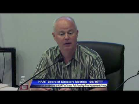 HART Board Meeting June 8, 2016