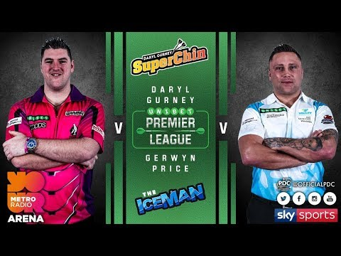 2018 Premier League of Darts Week 3 Gurney vs Price