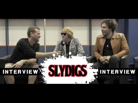Slydigs -  Interview - Oberhausen 2016 - metal-heads.de