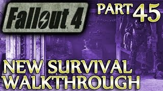 Ⓦ Fallout 4 New Survival Walkthrough ▪ Part 45: Reunions, Tracking Kellogg