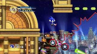Sonic the Hedgehog 4 - Episode 1 Playthrough (Part 2 of 6): Casino Street Zone