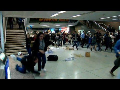 16 injured in Penn Station stampede