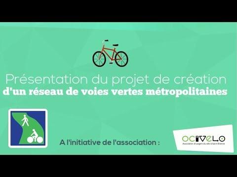 Réseau De Voies Vertes Métropolitain - Saint Etienne