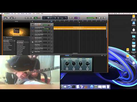 Sound Test Garage Band El Capitan OS X