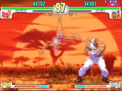 SFIII: 3rd Strike - Elena [Magunamu] vs Alex [Kazuya]