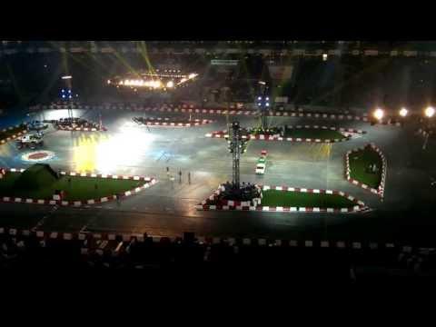 Zniszczenie motoru Hammonda   Top Gear Live Poland 21 09 2013